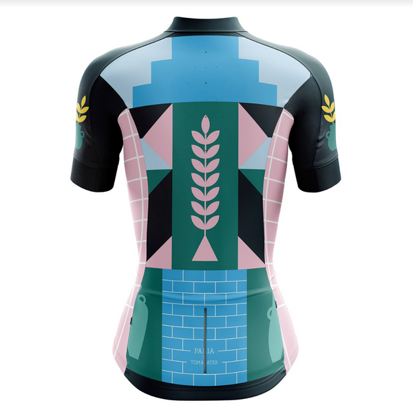 Abstract Women's Club Cut Jersey