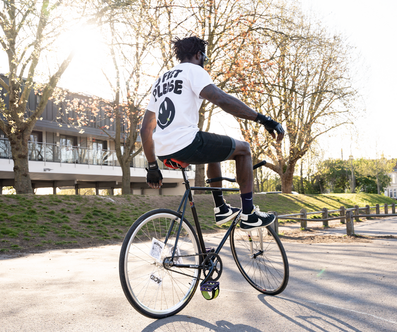 Track stand 3 Feet Cycling T-shirt