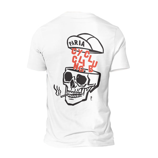 Skull Print Cycling T-Shirt