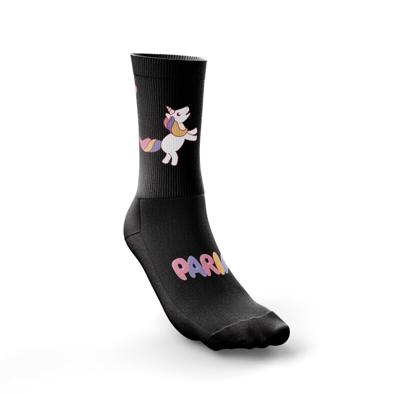 Unicorn Poop Cycling socks, Coolmax Cycling Socks, womens cycling socks, women's Coolmax Cycling Socks
