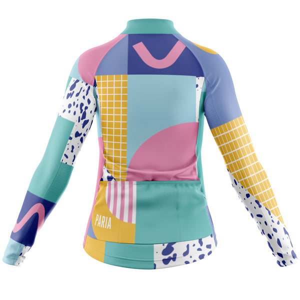XB X Paria Women's Long Sleeve Jersey-PARIA.CC
