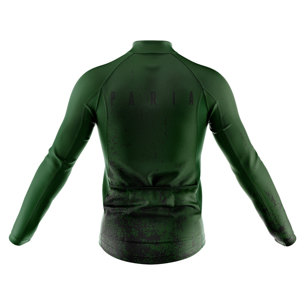 Modernist Long Sleeve Aero Winter Cycling Jersey