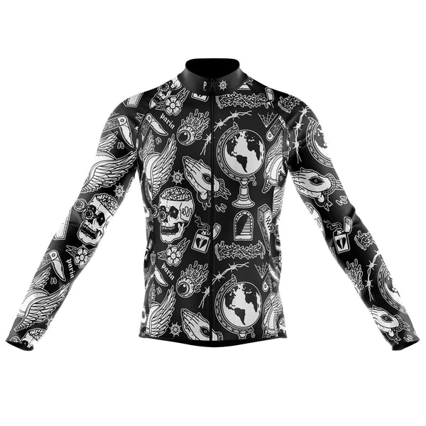 Abandon Ship X Paria Long Sleeve Winter Cycling Jersey-PARIA.CC