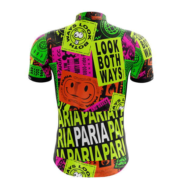 90's Short Sleeve Cycling Jersey-PARIA.CC