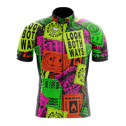 90's Short Sleeve Cycling Jersey