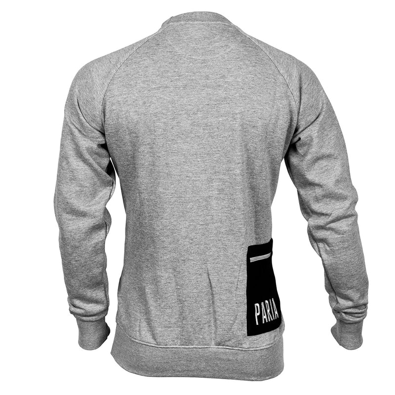 Cycling sweatshirt, cycling jersey, Paria sweatshirt, off the bike,