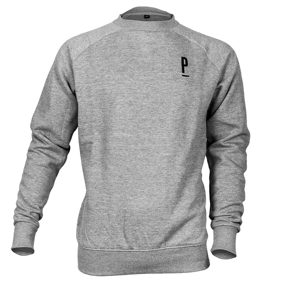 Utility Cycling Sweatshirt Heather Grey-PARIA.CC