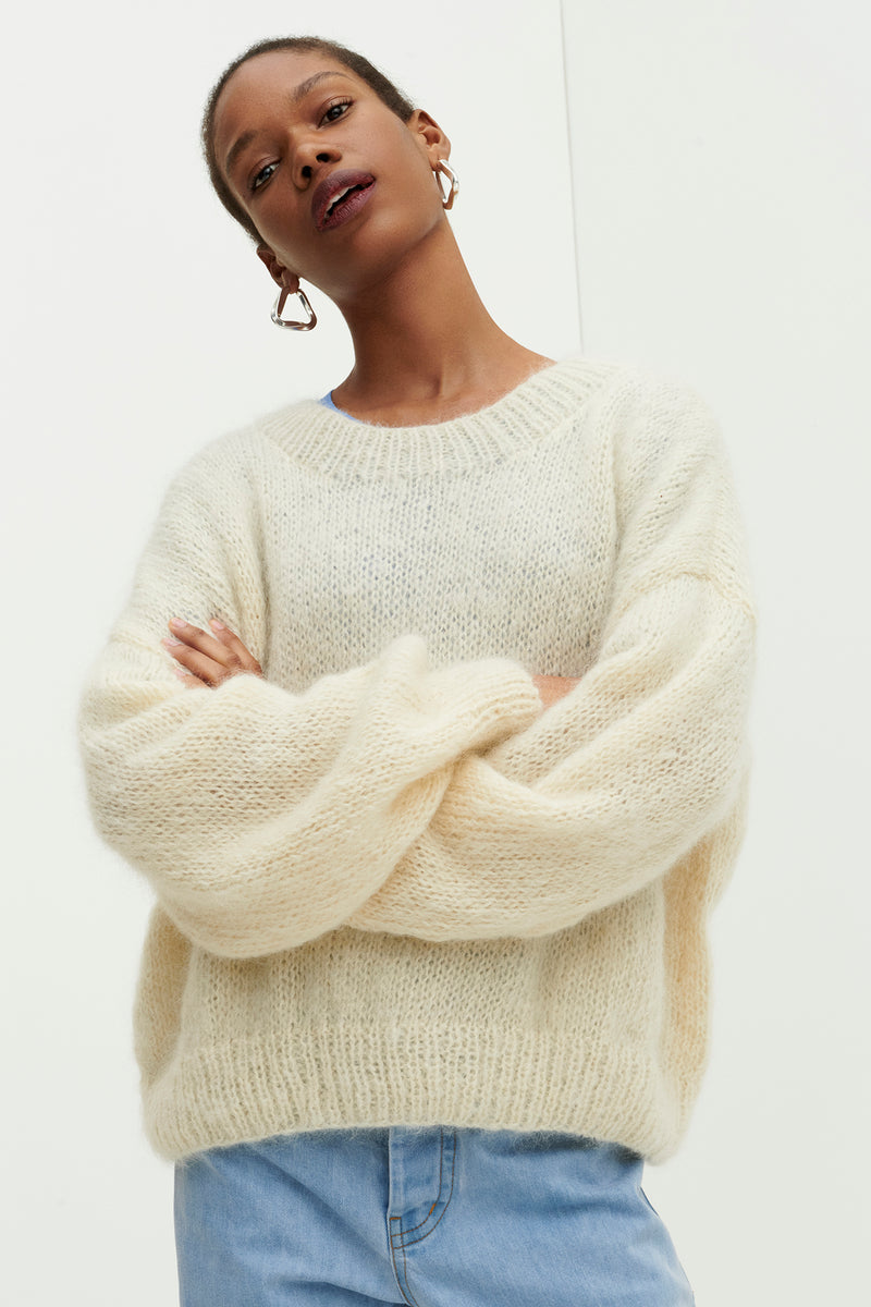 Cloud Hand Knit Sweater