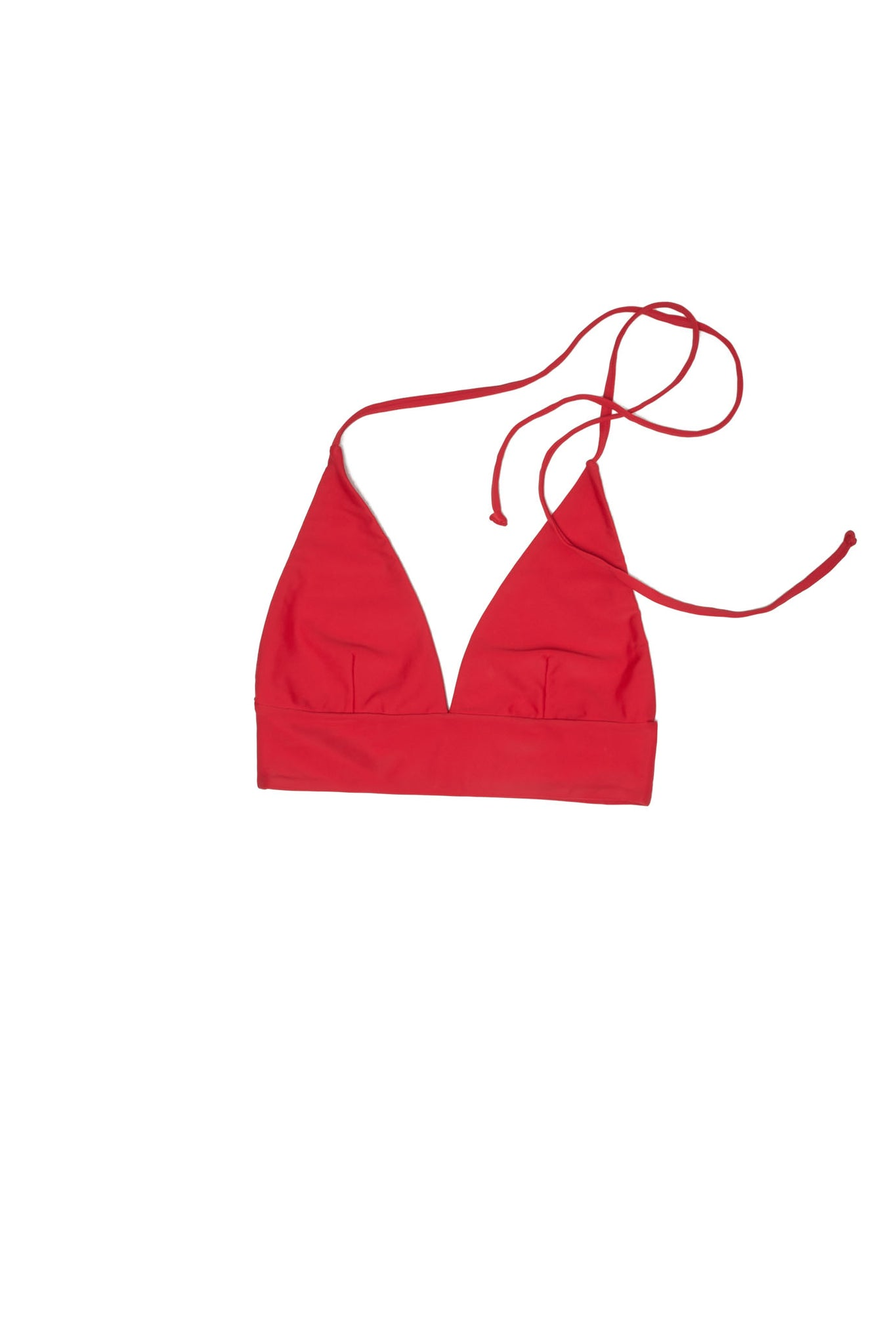 Halter Triangle Top