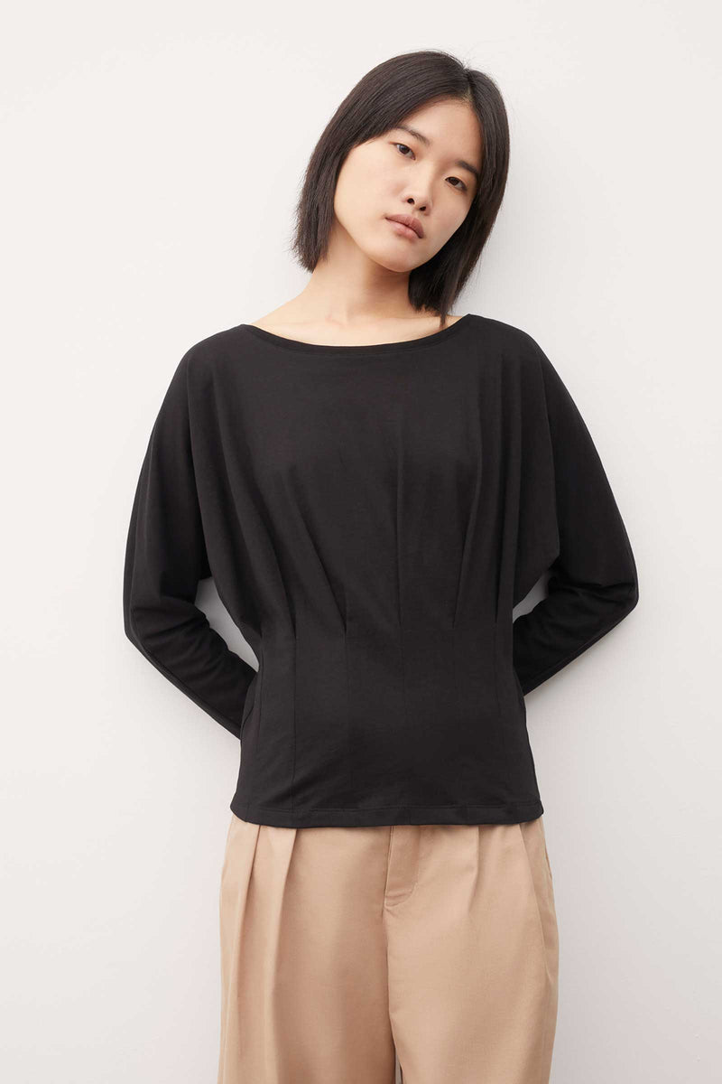 Pleat Bodice Top