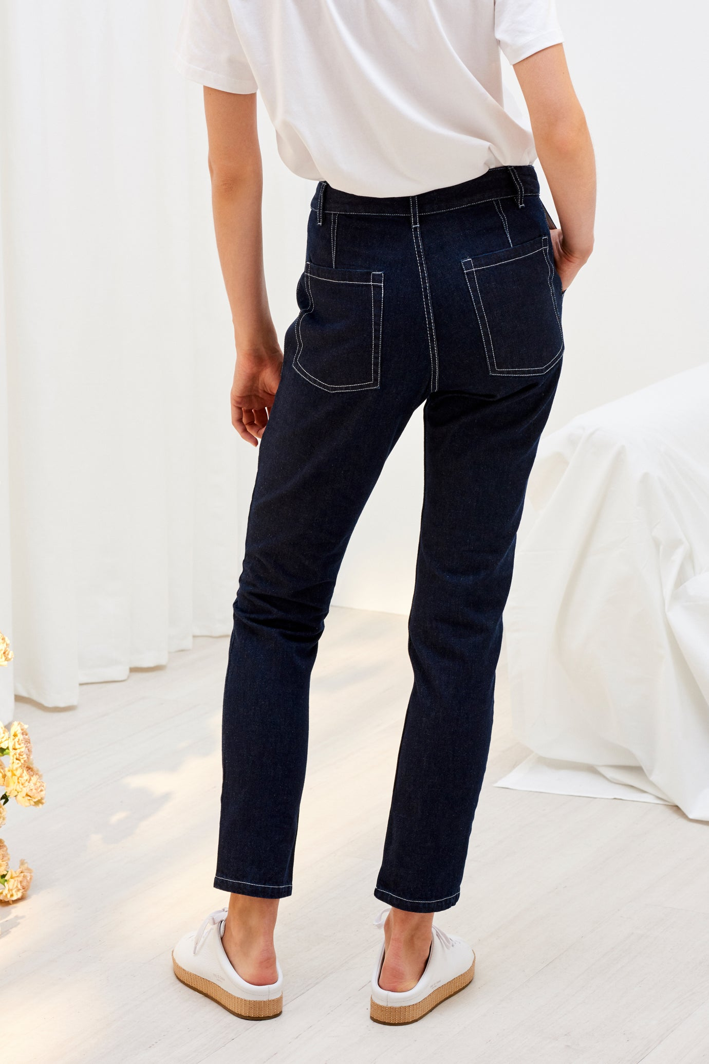 Rally Pant, Dark Denim
