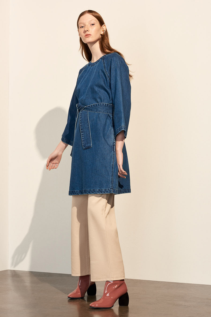 Technique Dress, Denim