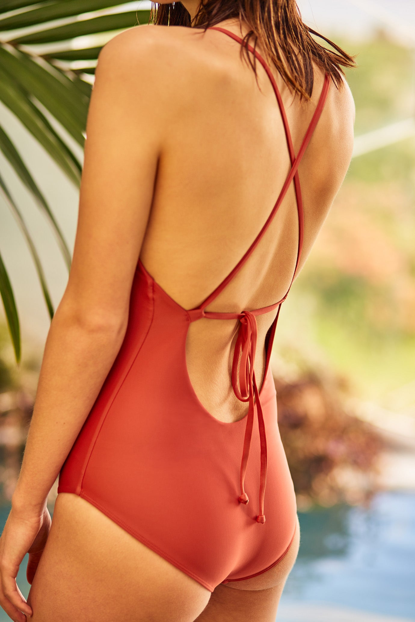 Tie Back One Piece