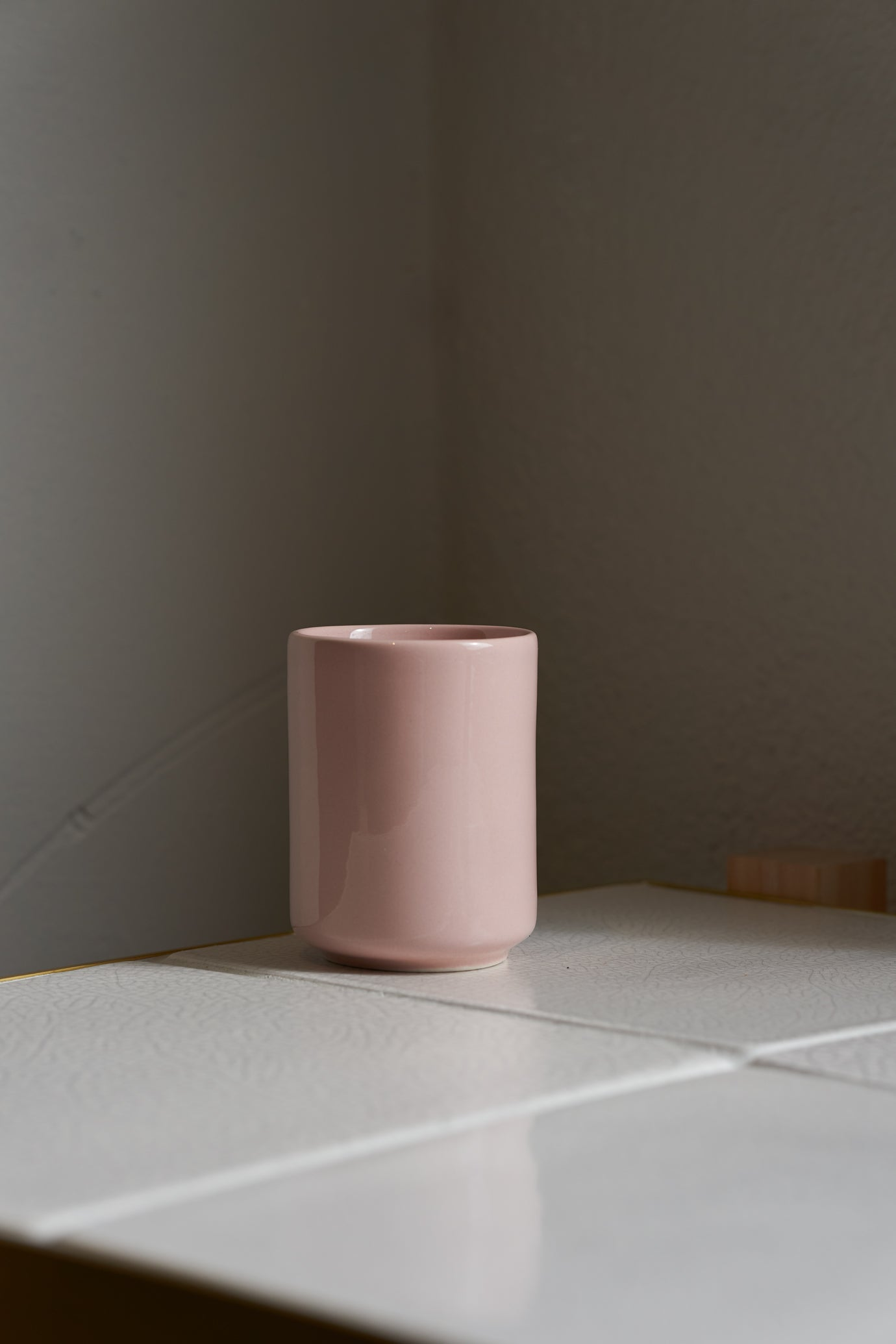 Twin Wall Cup, Rose