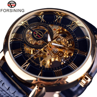 3D Literal Design Luxury Mechanical Skeleton Watch