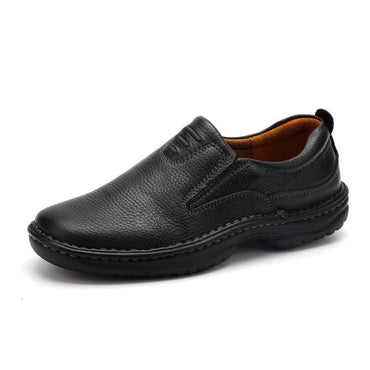 Handmade Oxfords Light Full Grain Leather Official Formal Shoes