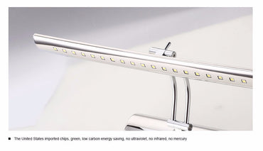 Wall Lamp Bathroom Led Mirror Light 7W 40cm 9W 55cm AC 220V 240V 110V Wall sconces Light With Switch Indoor Lighting