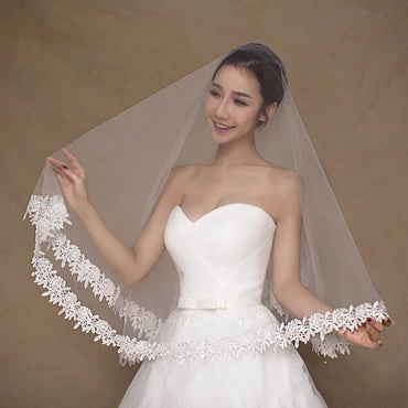 Long Bridal Veils Ivory Wedding Accessories.