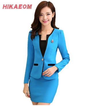 Women Office Uniform Designs Sets & Suits Beauty Salon.