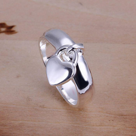 Wholesale 925 jewelry silver plated ring,