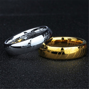 Tungsten ring Stainless Steel Ring.