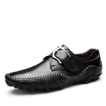 High Quality Genuine New Roman Fashion Style Soft Moccasins Men Shoes