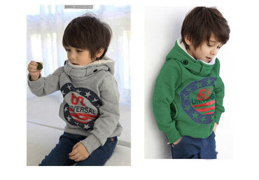 Children's Winter Pullovers Boys Hoodies.