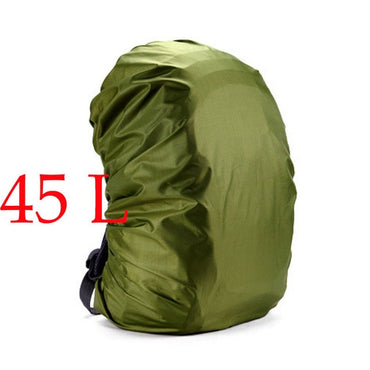 Nylon Army Green Camouflage RainCover 35-80L Lightweight Waterproof Backpack Bag Rain.