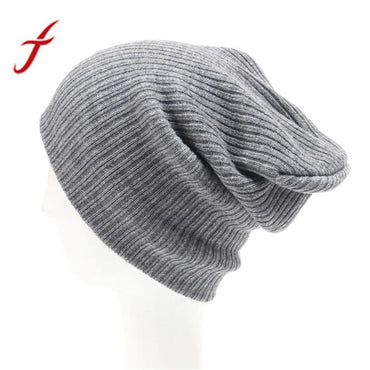 Feitong Autumn Winter Men's Women Beanie Knit Cap .