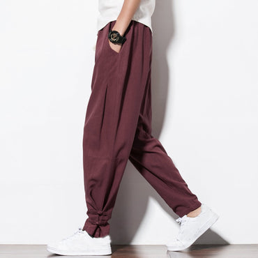 Autumn New Joggers Mens Harem Pants.