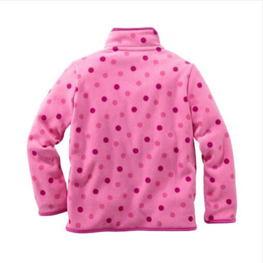 Boy girl hoodies Baby Boys girls stripe fleece jackets and coats kids boys sweatshirt.