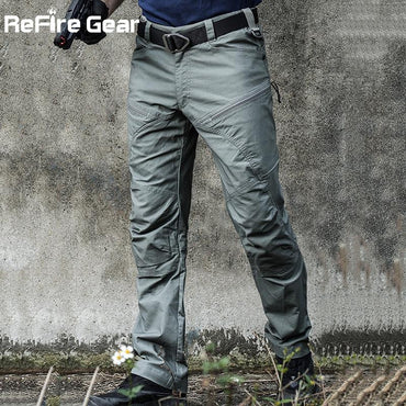Men's ReFire Gear Military Tactical Cargo Pants.