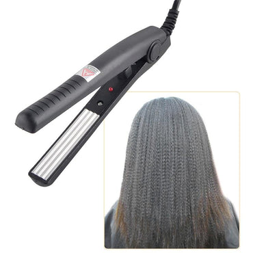 Electric Hair Straightener straightening Corrugated Iron