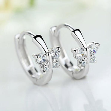 Fashion Wholesale Jewelry 925 Sterling Silver Earring.