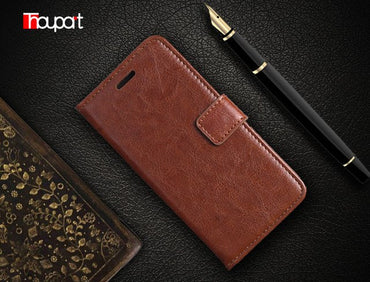 Wallet Leather Cover For Galaxy A520 Samsung A5 2017 Case Full Soft Book Style