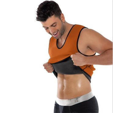 Slimming Belt Belly Men Slimming Vest Body Shapers.