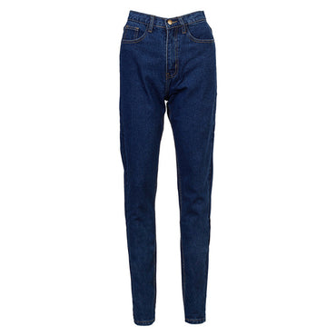 Women High Waist Jeans Vintage Mom Style Pencil  Pants.