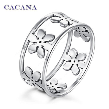 Titanium Stainless Steel Rings For Women.