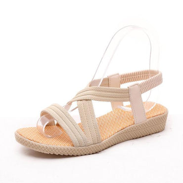 summer gladiator women fashion comfortable flip flops flat  sandals.