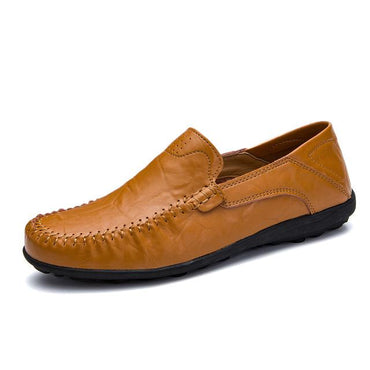Men's Genuine Casual Luxury Brand Summer Loafers Shoes.