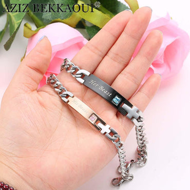 Love Gift Couple Jewelry for Women Men.