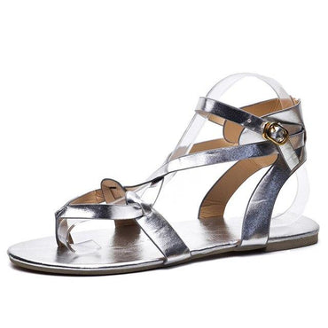 New Summer Comfortable Women Fashion Concise Beach Shoes Female Flat Sandals.