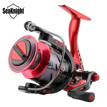 New PUCK 2000 3000 4000 5000 Spinning Reel 5.2:1 Fishing Reel 9KG Max Drag Power Spinning Wheel Long Casting Fishing