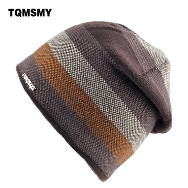Unisex bone brand hat men's winter beanie man skullies Knitted wool beanies .