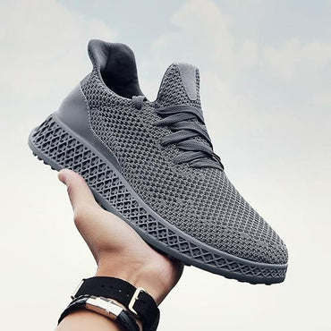 Men Sneakers Running Shoes Lightweight Sneakers Mesh Breathable Sport Shoes.