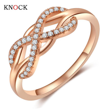 Fashion Micro Cross Rings For Women Cubic.