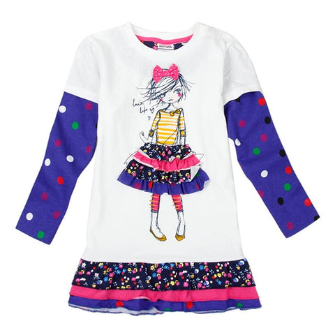 Novatx   newest design girls flower frocks children clothes hot dresses.