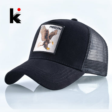 Fashion Animals Embroidery Baseball Caps .