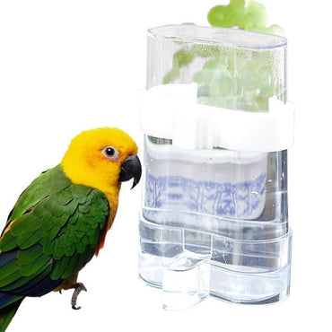 Misterolina Acrylic Bird Feeders And Automatical Waterers Drinking Bowls For Birds Pet Accessories Lovebird Pets Supplies Hot