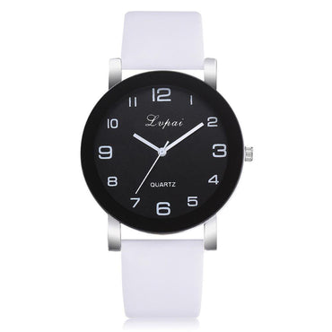 Women Fashion Small dial Leather Quartz Watch